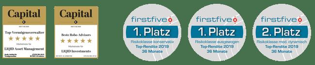 Capital und firstfive Awards